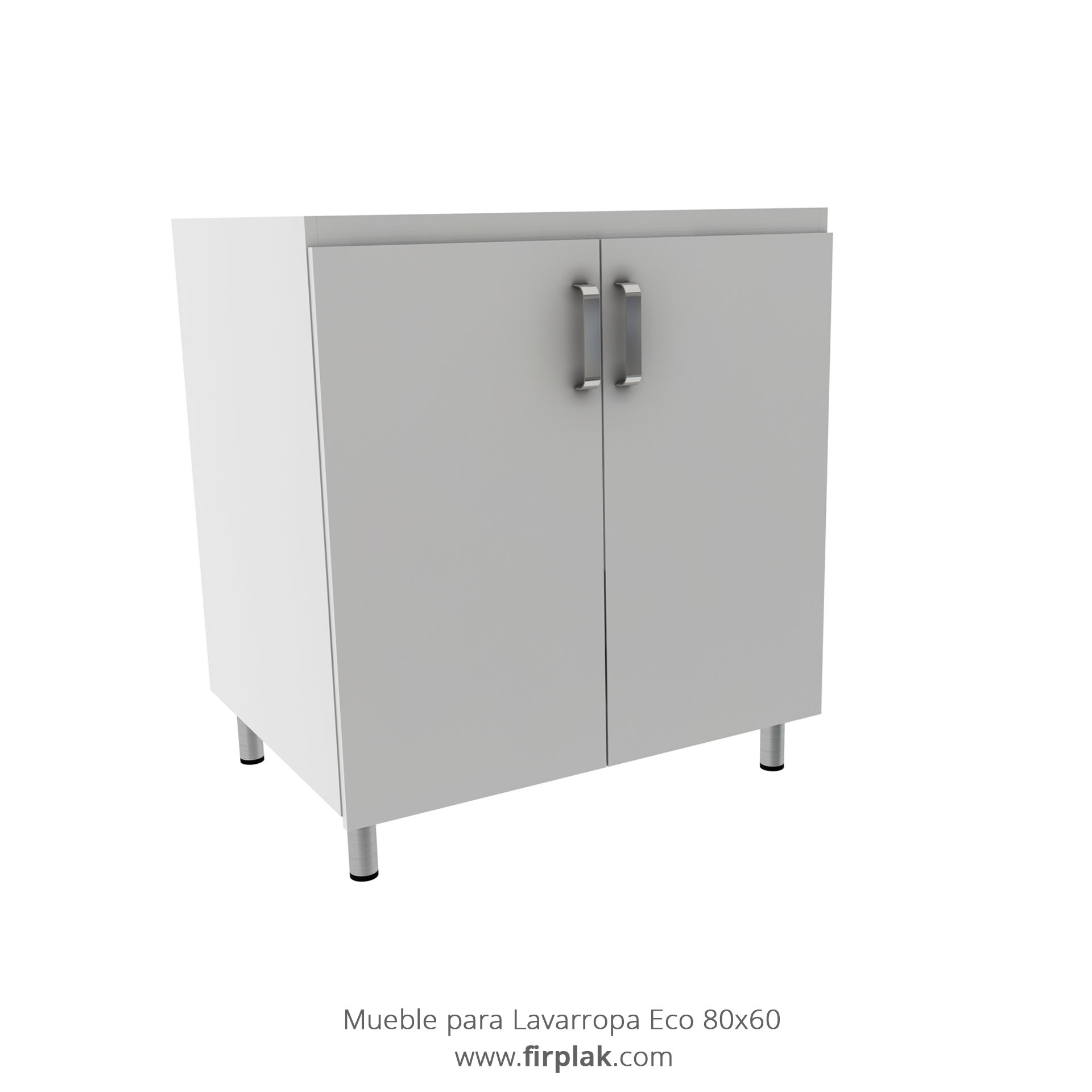 Mueble Lavarropas Eco 80 60 1 Firplak