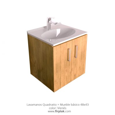 Lavamanos sahara mueble b sico vessel 50 x 60 firplak - Lavamanos con mueble ...