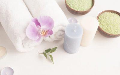 Amplía la relajación de tu baño con productos naturales