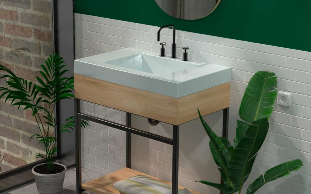 Godai: minimalismo e innovación en muebles para baño